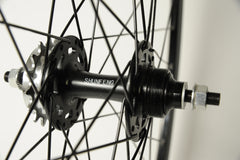 S S C Workhorse Single Speed Wheel - Black