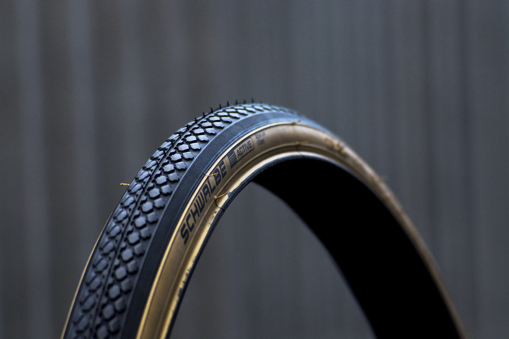 "Pair of Schwalbe HS159 Classic Gum Wall Tyre - 27"" x 1 1/4"""