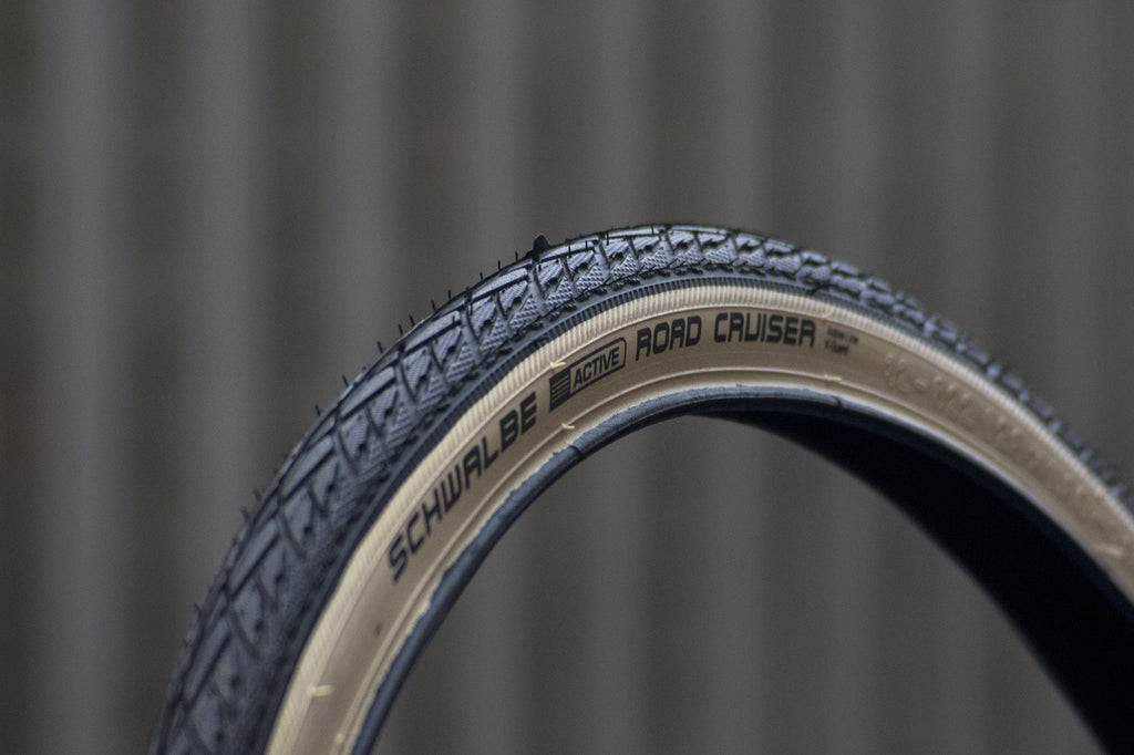 Pair of Schwalbe Road Cruiser Classic White Wall Tyre - 700c x 32mm