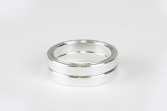 "Silver 1"" Headset Spacers"