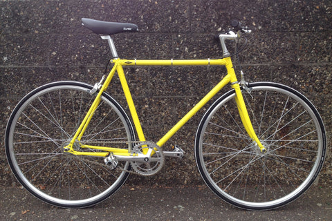 SSC Model 2 Single Speed Bike in Sulphur | 52cm