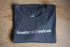 Love Velo Love T-Shirt - Mens