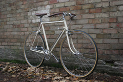 SSC Cream Single Speed Bike - Vintage Lugged Frame with New Parts