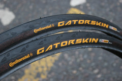 Pair of Folding Continental Gatorskin Tyres -  700c x 25c