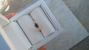 Blue Sapphire Ring - 1.1ct