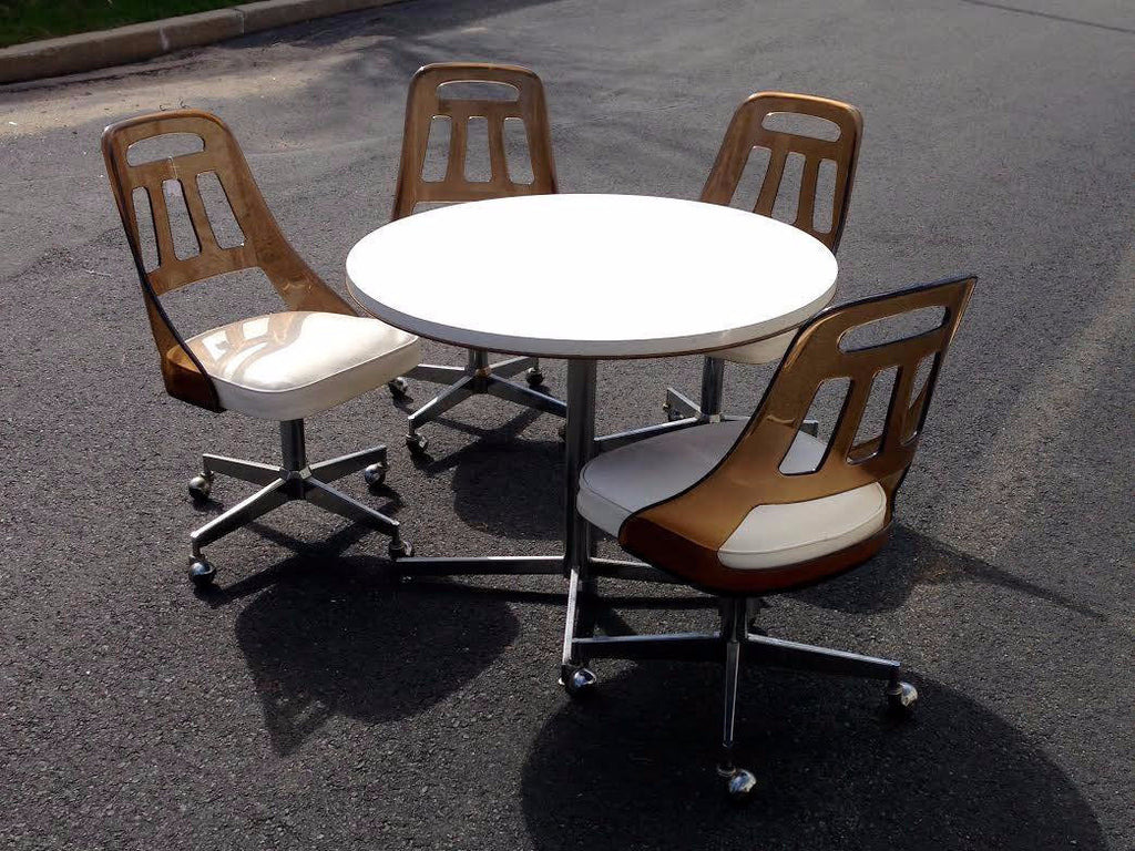Mid-Century Modern Lucite Dining Set-SOLD