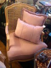 French Style Cane Back Armchair SOLD