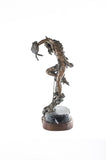 Sculpture, Prairie Dance Bronze Statue by Ron Boddy