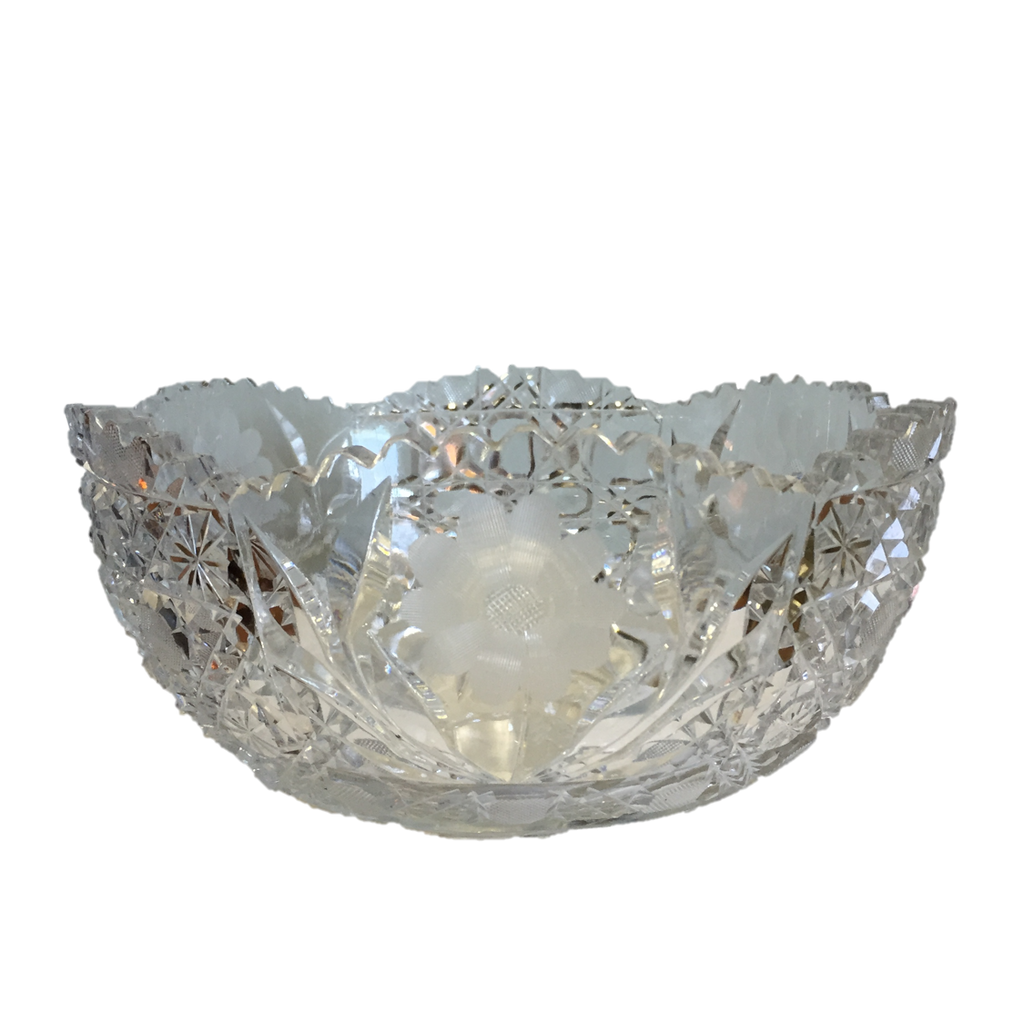 Cut & Blown Crystal Bowl