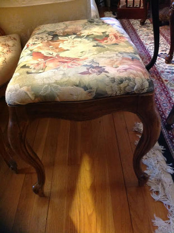 French Style Bench Stool