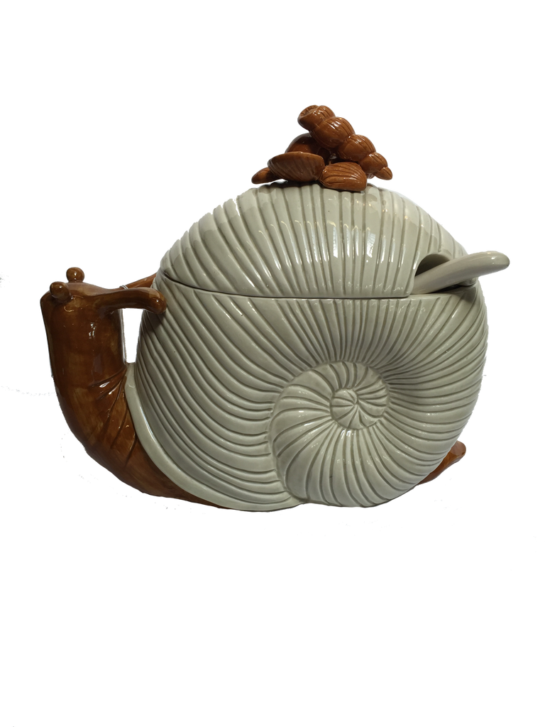 Fitz and Floyd Snail Shaped Tureen SOLD
