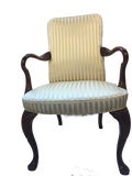 Goose Arm Sophisticated Style Armchair