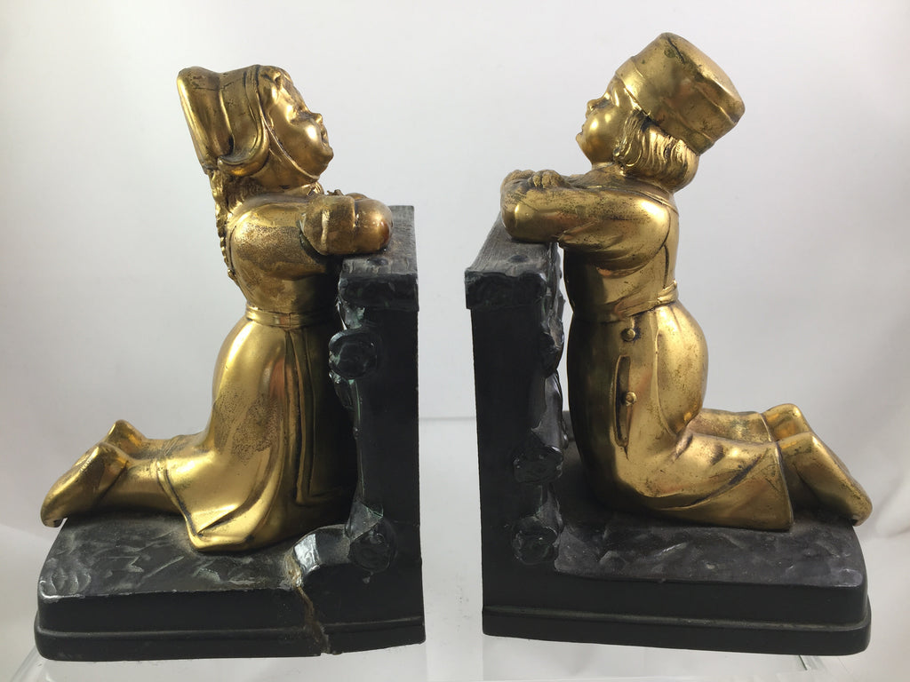 Dutch Children Bookends set of 2