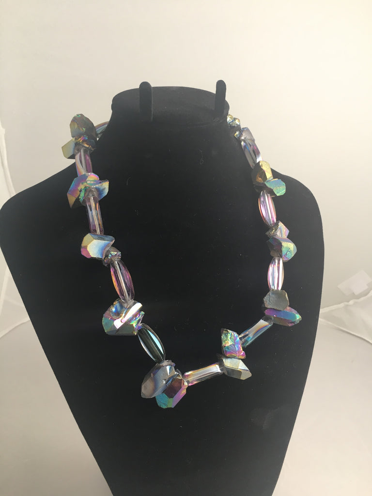 Stellar Rainbow Crystals and Rainbow Nuggets with Titanium