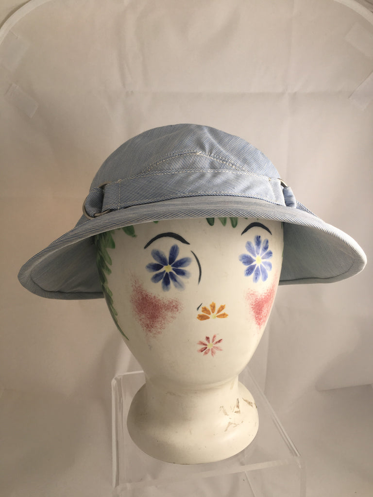 Hat Stephanie Custom Made Blue