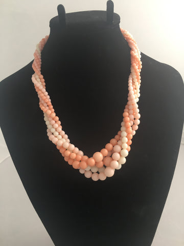 Trifari Pink Necklace