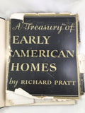 Book, A Treasury of Early American Homes by Richard Pratt 1949