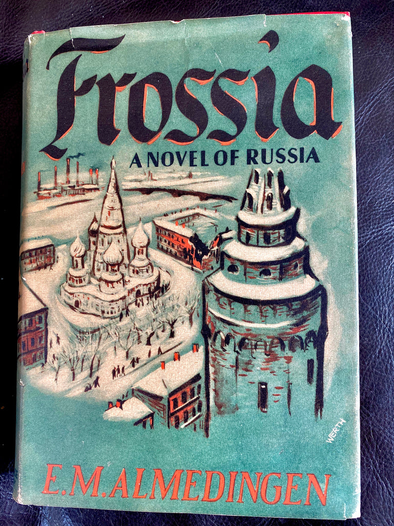Book, Frossia A Novel of Russia