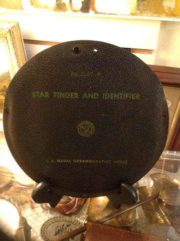 U S Naval Oceanographic Office Star Finder and Identifier.  Nautical slide ruler.-SOLD