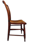 Wood Chairs with Rush Seats (set of 6) SOLD