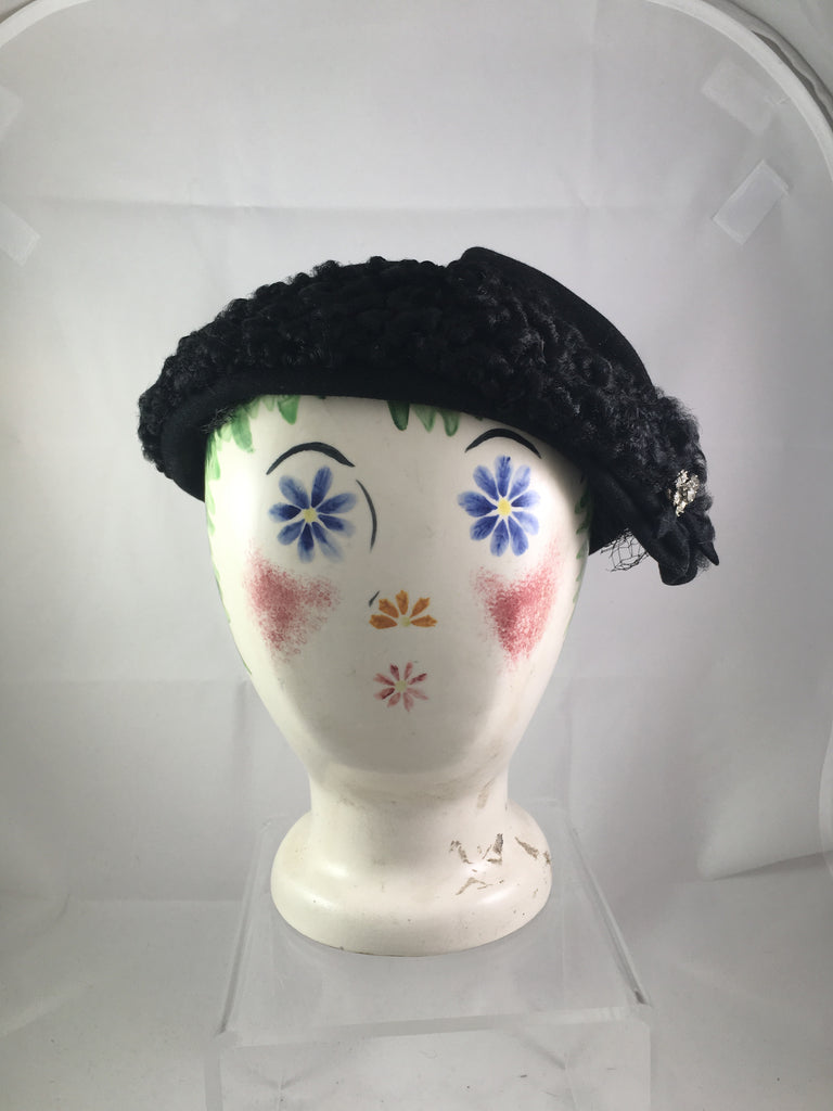 Bessie Levitt Persian Lambswool Headpiece