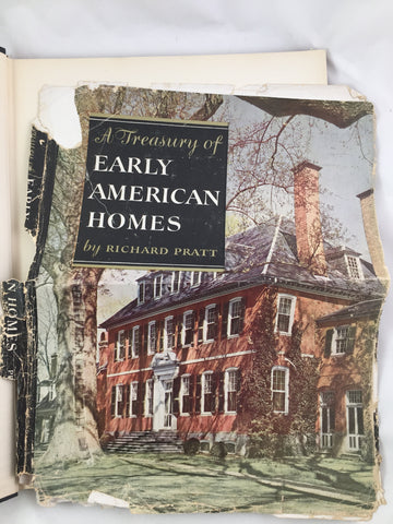 A Treasury of Early American Homes by Richard Pratt 1949
