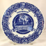 Josiah Wedgwood Commemorative Plate for Briggs Boston celebrating the Sestercentennial of Maldon, MA