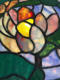 Stained Glass Hanging Lamp SOLD