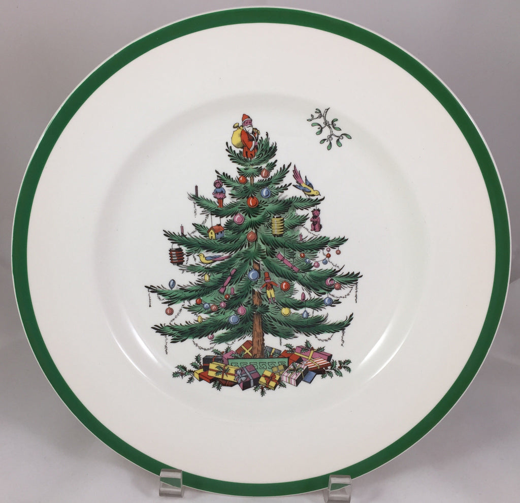 Spode Christmas Tree Dinner Plate Set of 15