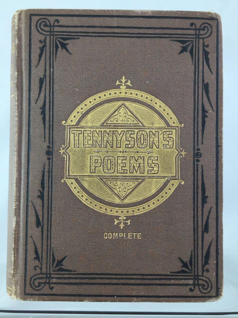 Book, Tennyson's Poems Complete SOLD
