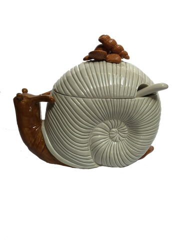 Fitz and Floyd Snail Shaped Tureen