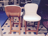 Pair of Mid Century Modern Plycraft Custom Counter Stools
