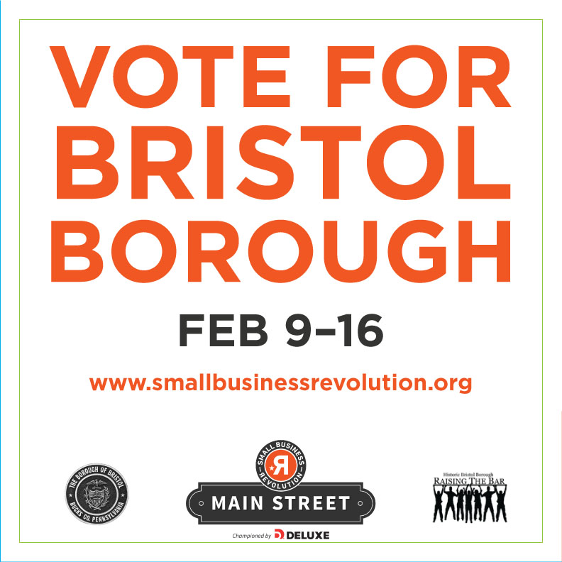 BRISTOL NAMED FINALIST FOR SMALL BUSINESS REVOLUTION