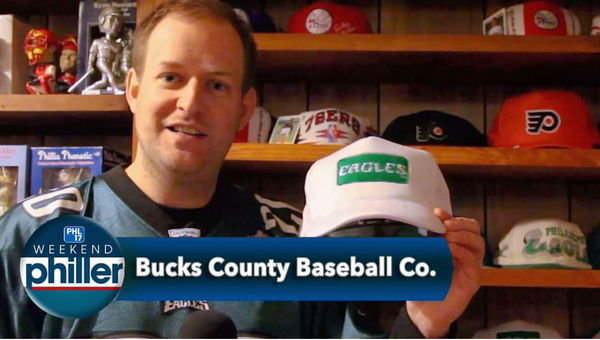 Bucks County Baseball Co featured again on PHL17 Weekend Philler