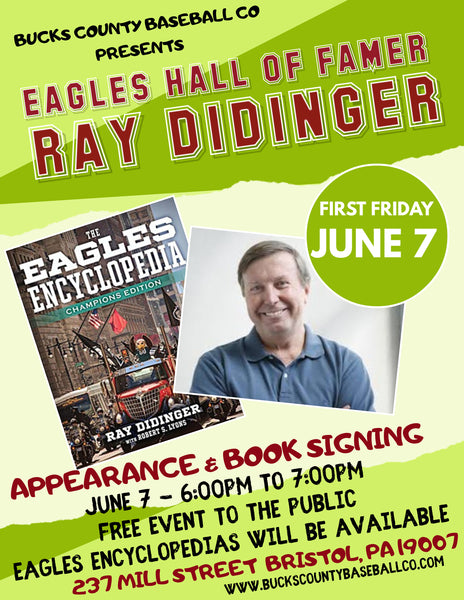 Ray Didinger Appearance & Book Signing on June 7