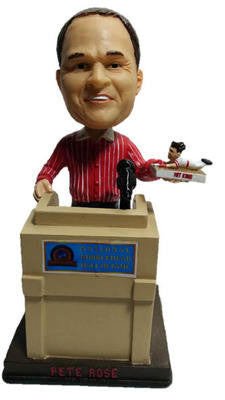 PETE ROSE VOTED INTO BOBBLEHEAD HALL OF FAME