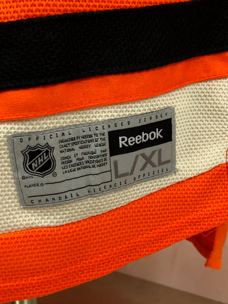 PHILADELPHIA FLYERS AUTHENTIC REEBOK JERSEY YOUTH LARGE /  XL