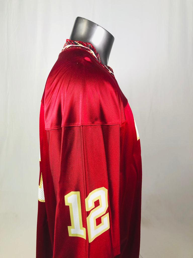 THAD BUSBY FLORIDA STATE UNIVERSITY SEMINOLES VINTAGE 1990'S TEAM NIKE JERSEY ADULT LARGE