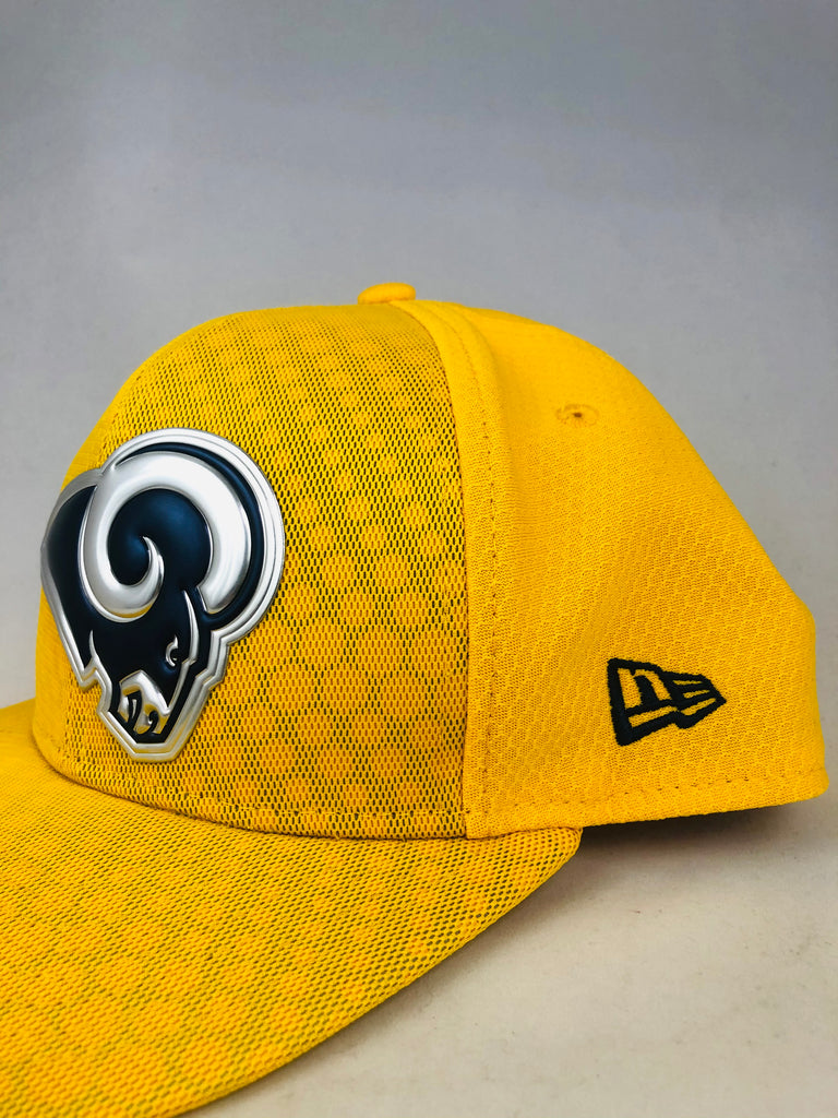 LOS ANGELES RAMS TEAM ISSUED NEW ERA SNAPBACK ADULT HAT