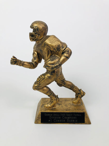 CONNOR BARWIN GUARDIAN ANGELS 2000 VARSITY FOOTBALL DIVISION CHAMPIONS TROPHY