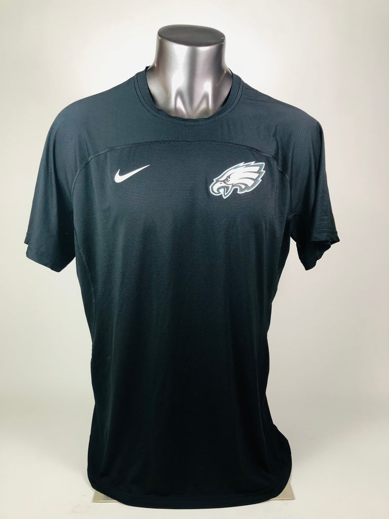 JASON KELCE PHILADELPHIA EAGLES TEAM ISSUED NIKE DRI-FIT SHIRT ADULT 2XL