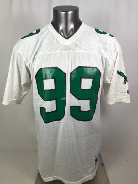 JEROME BROWN PHILADELPHIA EAGLES VINTAGE 1990'S CHAMPION JERSEY ADULT 44