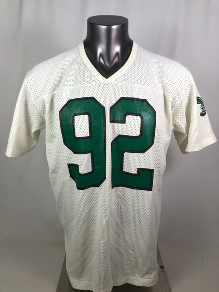 REGGIE WHITE PHILADELPHIA EAGLES VINTAGE 1990'S RAWLINGS JERSEY ADULT XL