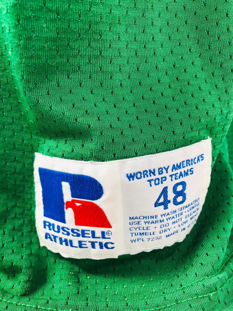 ANDY HARMON PHILADELPHIA EAGLES VINTAGE 1990'S RUSSELL ATHLETIC JERSEY ADULT 48