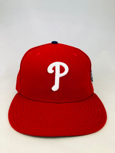 PHILADELPHIA PHILLIES 2008 WORLD SERIES NEW ERA FITTED ADULT HAT 7 5/8
