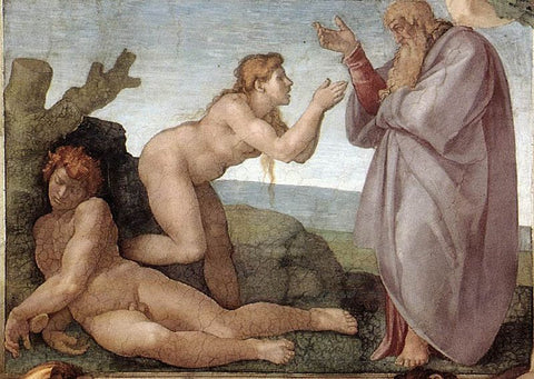 Creation of Eve Michelangelo