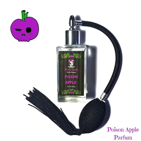 Poison Apple Sweet Smelling Gothic Perfume 50ml bulb atomizer Spray