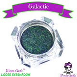 GALACTIC Glam Goth™ duo-chrome color shifting eyeshadow by Posh Goth