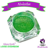 ABSINTHE Glam Goth™ loose eyeshadow by Posh Goth