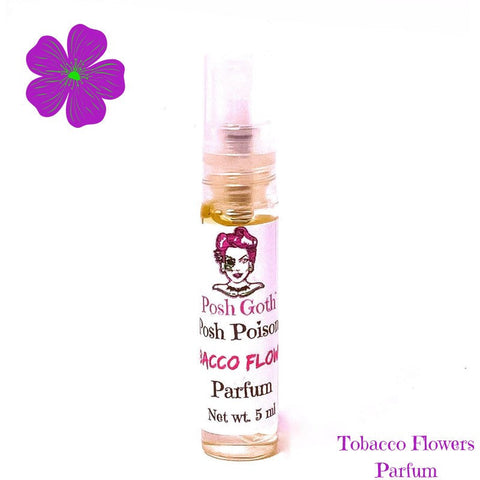 TOBACCO FLOWERS Gothic Perfume 5 ml spray